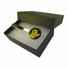 Handmade Sooty & Sweep Inspired Silver Plated Tie Pin Slide - Boxed Mens Gift **