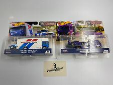 Hot Wheels Team Transport Porsche + Datsun #9 Und #17 by RACEFACE-MODELCARS