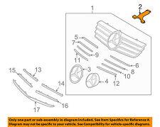 MERCEDES OEM 06-09 CLK350 Grille Grill-Spacer 2098880090