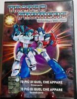 DVD CARTOON ROBOT ANNI 80-TRANSFORMERS G1 GENERATION ONE commander,megatron,auto