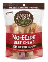 Earth Animal NO HIDE BEEF DOG STIX 10 pak SMALL Rawhide Alternative MADE IN USA