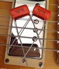 PAIR (2X)  .022 400v ORANGE DROP CAPS - 716P - U.S. Seller