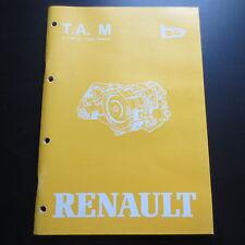 Werkstatthandbuch Renault Fuego Trafic 5 9 11 25 20 Automatik-Getriebe MB MJ ML