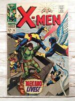 Uncanny X-Men #36 1967 VG/FN