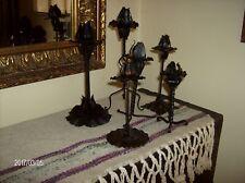 Candelieri portacandele antichi in ferro