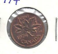 1974 Canadian Penny