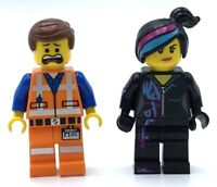LEGO LOT OF 2 THE LEGO MOVIE MINIFIGURES WYLDSTYLE EMMET DUO FIGS