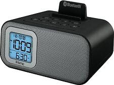 Ihome IBT22 Bluetooth Inalámbrico Altavoz Reloj Alarma Dual Con Carga Usb Nuevo
