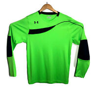 Under Armour UA Horizontal Mens Soccer GoalKeeper Jersey Size L Padded