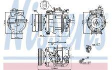 NISSENS Compresor, aire acondicionado VOLKSWAGEN PHAETON TOUAREG AUDI Q7 89091