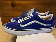 Supreme NYC x Vans - Old Skool Pro Blue Iridescent size 11 7f8833f58