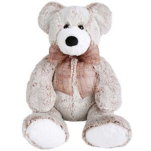NEW PLUSH SOFT TOY MINKPLUSH Franklin Caramel Bear - 38cm - Teddy