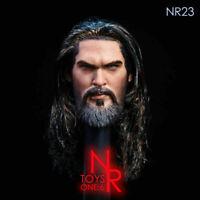 "NRTOYS NR23 1/6 Underwater Prince Head Sculpt Painted Hair F 12"" Male Figure"