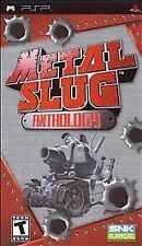 Metal Slug Anthology (Sony PSP, 2007) Complete Brand New still in shrink wrap