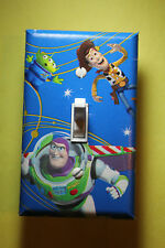 Toy Story Woody and Buzz Light Switch Cover Plate kids child bedroom room decor