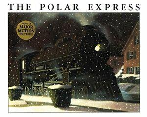 The Polar Express by Van Allsburg, Chris Hardback Book The Cheap Fast Free Post