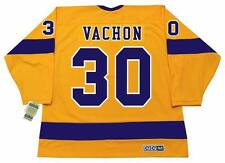 1f02ef90 ROGIE VACHON Los Angeles Kings 1970's CCM Vintage Home NHL Hockey Jersey