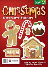 Children's Wall,Toy Box Collectors Christmas Stickers - Gingerbread Man