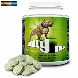 Bully Max The Ultimate Canine Supplement. Vet-Approved Muscle Builder for Dogs.