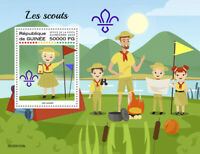 Guinea Scouting Stamps 2020 MNH Boy Girl Scouts 1v S/S