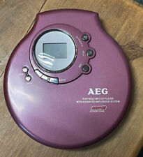 AEG Portable MP3-CD Player Tragbarer CD Player