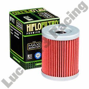 HF972 Oil filter Hiflo Filtro to fit Suzuki AN SYM Maxsym 600 Yamaha YP 400
