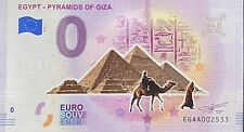 BILLET 0  EURO EGYPT PYRAMIDS OF GIZA  COULEUR   2019 NUMERO DIVERS