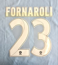 MELBOURNE CITY FORNAROLI #23 A-LEAGUE NAME AND NUMBER SET FOR HOME JERSEY