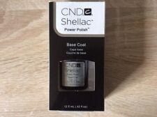 CND Shellac Esmalte Naill UV genuino, gran capa superior 15ml, Capa Base 12.5ml Nuevo