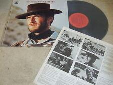 CLINT EASTWOOD JAPAN VINYL LP w/INSERT WESTERN MOVIE THEMES CBS FCPA550 EX