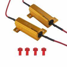 2x 50W 6 Ohm LED Resistance Clignotant Anti Erreur Voiture Lumière Brouillard