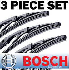 "for Odyssey 3pcs Bosch Direct Connect Wiper Blades Set 24"" 21"" 17"" ""OEM"" Quality"