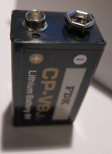 FDK CP-9 Ju Lithium Batterie 9V für Rauchmelder E-Block 3CR1/2 6L  Neu