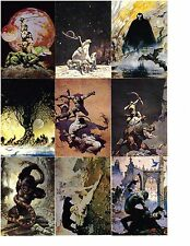 1991 Frazetta Trading Cards (by Comic Images).  Three cards for $1.