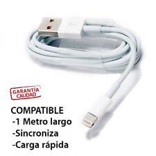 CABLE CARGADOR Y DATOS COMPATIBLE IPHONE 7 y IPOHONE 7 PLUS carga y sincroniza