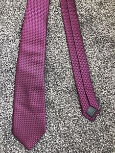 """Next pink patterned mix smart polyester classic tie 2.25"""" wide 57"""" long"""