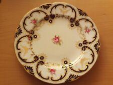 Antique Coalport Floral Batwing Sandwich/Cake Serving Plate.