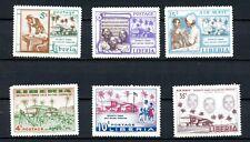 Liberia MH Tubman Child Welfare Incl Air Mail K443