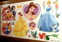 disney princess Ariel cinderella belle  wall sticker decal children/kids bedroom