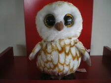 Ty Beanie Boos SWOOPS the owl 6 inch NWMT. In stock now.