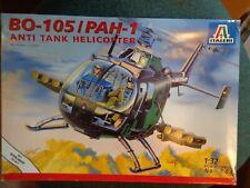 1/32 scale Italeri Bo-105 Pah-1 anti tank helicopter open unbuilt complete