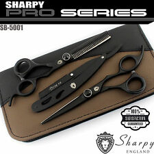 Professional Barber Hairdressing Scissors Thinning Hair Cutting Shears Set 6.5""