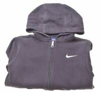 NIKE Boys Hoodie Sweater 10-11 Years Medium Black Cotton  EA07