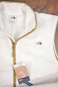 NWT The North Face Campshire Fleece Vest Ivory White Men's XXL