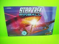 Star Trek Pinball Machine POSTER 2013 Original Double Sided Wall Artwork Stern