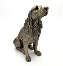 Frith Springer Spaniel Winston Figure In Cold Cast Bronze Made In UK