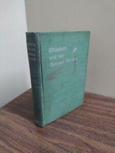 Old ELIZABETH AND HER GERMAN GARDEN Book THE MERSHON CO. c1890s