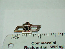 Chevrolet 1956 Bow Tie Charm,  (silvertone ) (**)
