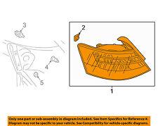 AUDI OEM 2017 A3 Sportback e-tron-Tail Light Assembly Right 8V4945092A