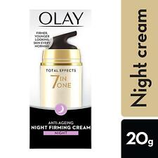 Olay Total Effects 7-In-1 Anti Ageing Night Firming Skin Cream, 20gm Free Ship